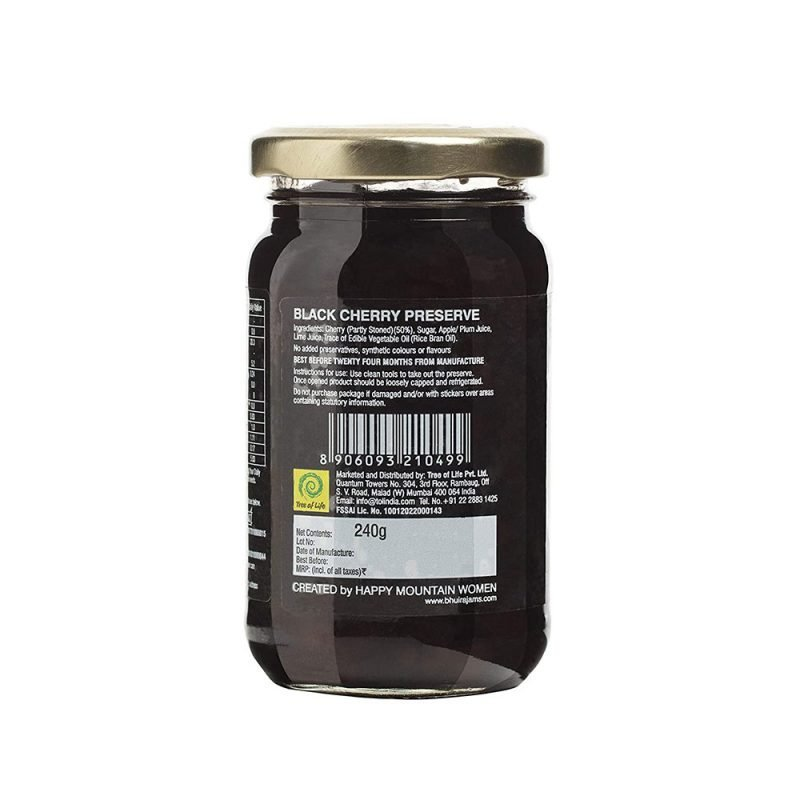 Bhuira Jams Black Cherry Preserve