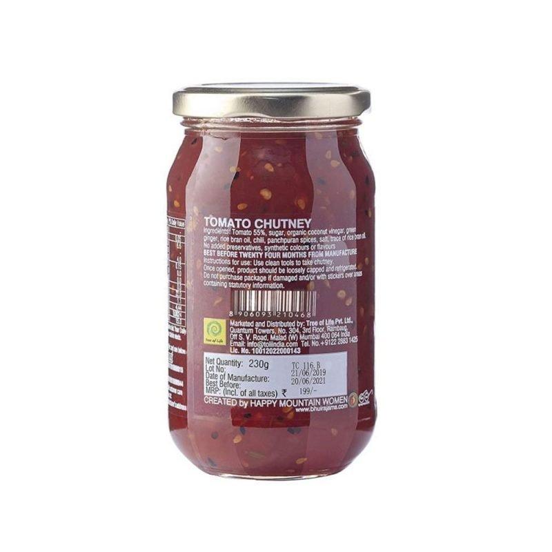 Bhuira Jams Tomato Chutney
