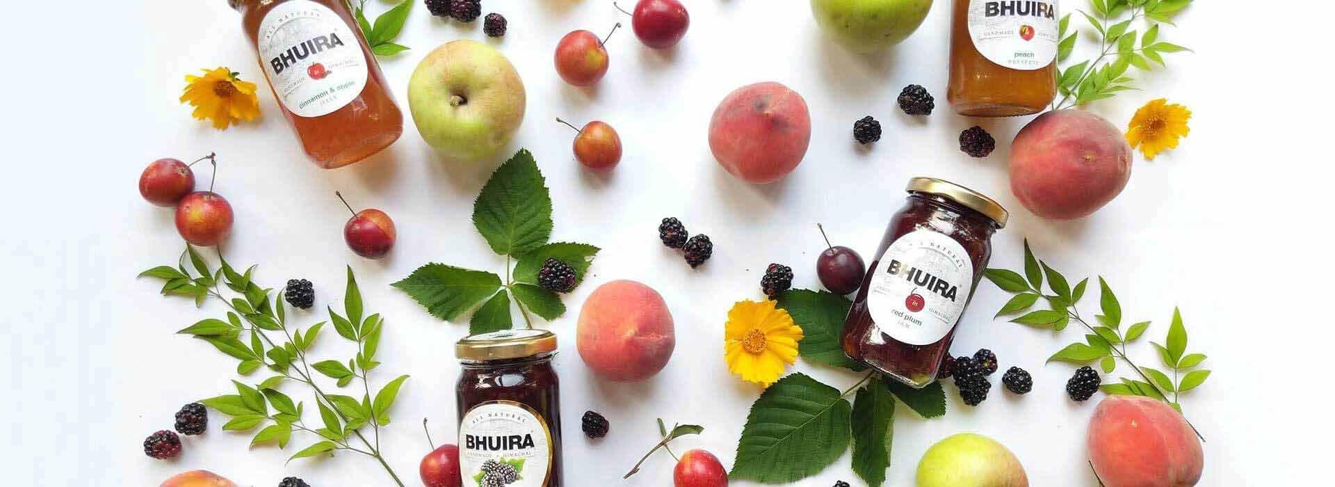 Bhuira Jams Product Range